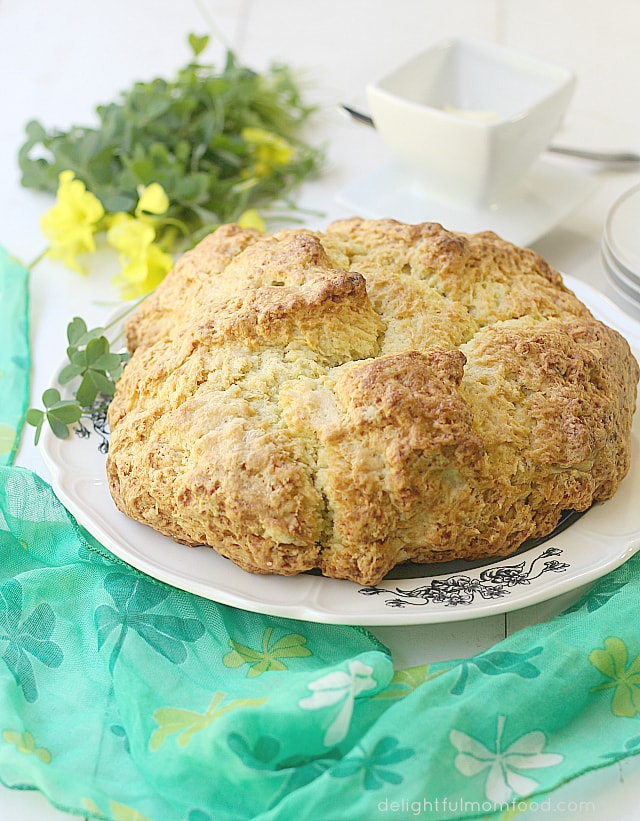 Irish Soda Bread For St. Patrick's Day | Delightful Mom Food