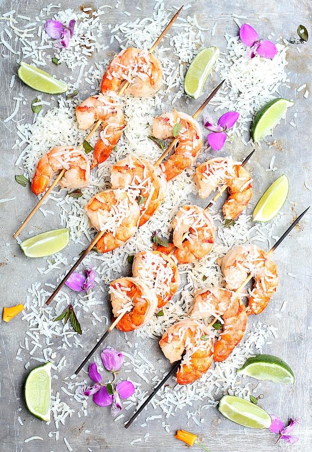 Coconut milk shrimp recipe