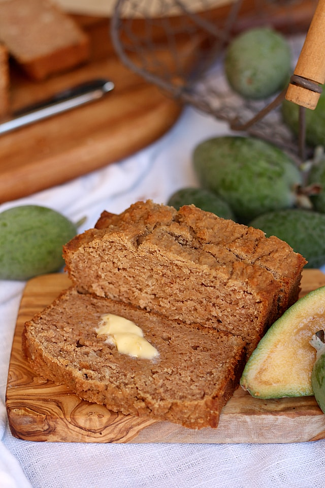 10-Minute Pineapple Guava Bread Loaf Recipe!