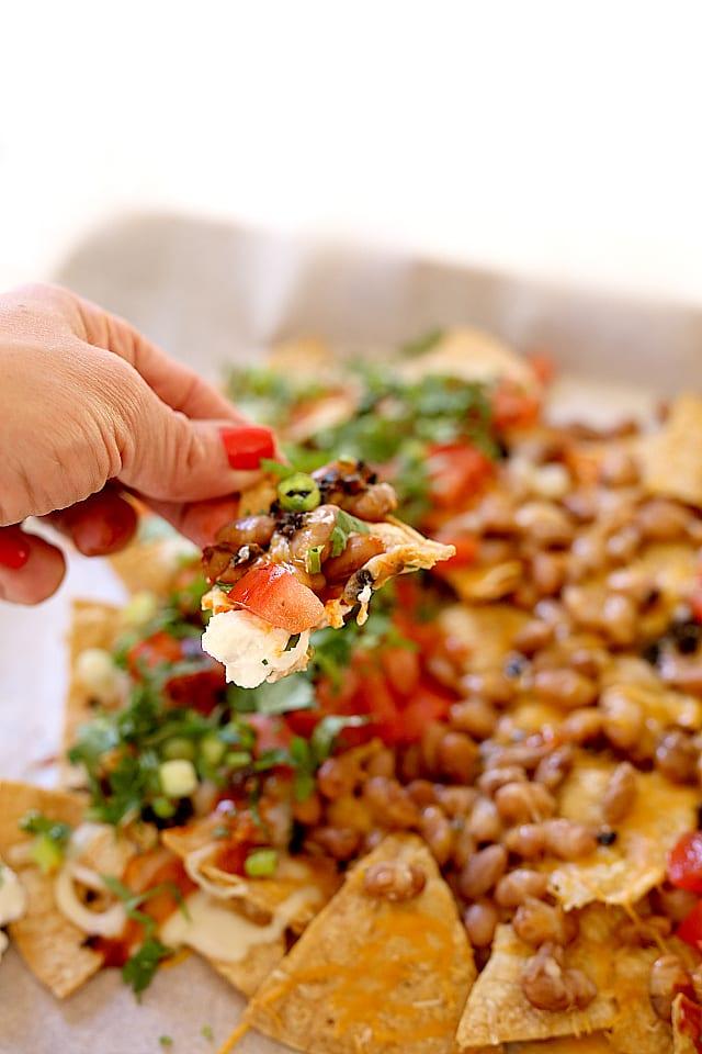 Healthy simple nachos recipe