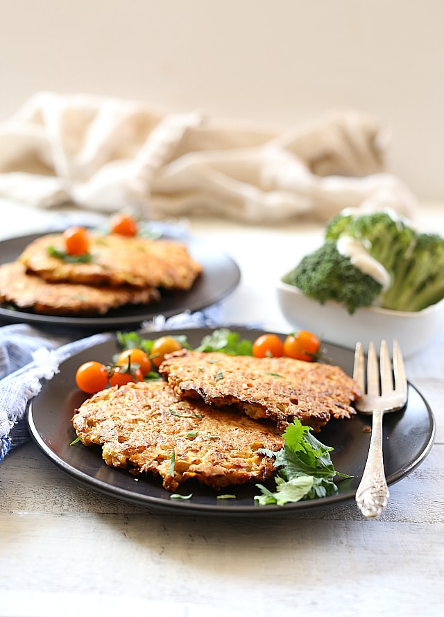 Cauliflower patties that are paleo