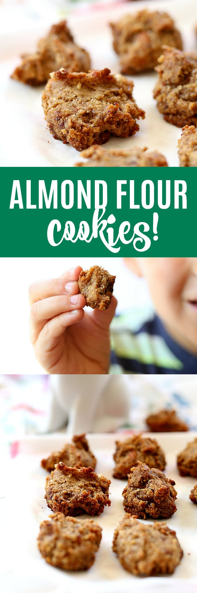 Miniature vegan almond meal treats perfected into bite size cookies! These grain free almond flour cookies naturally soothe a sweet tooth and are packed with healthy fats and nutrients!