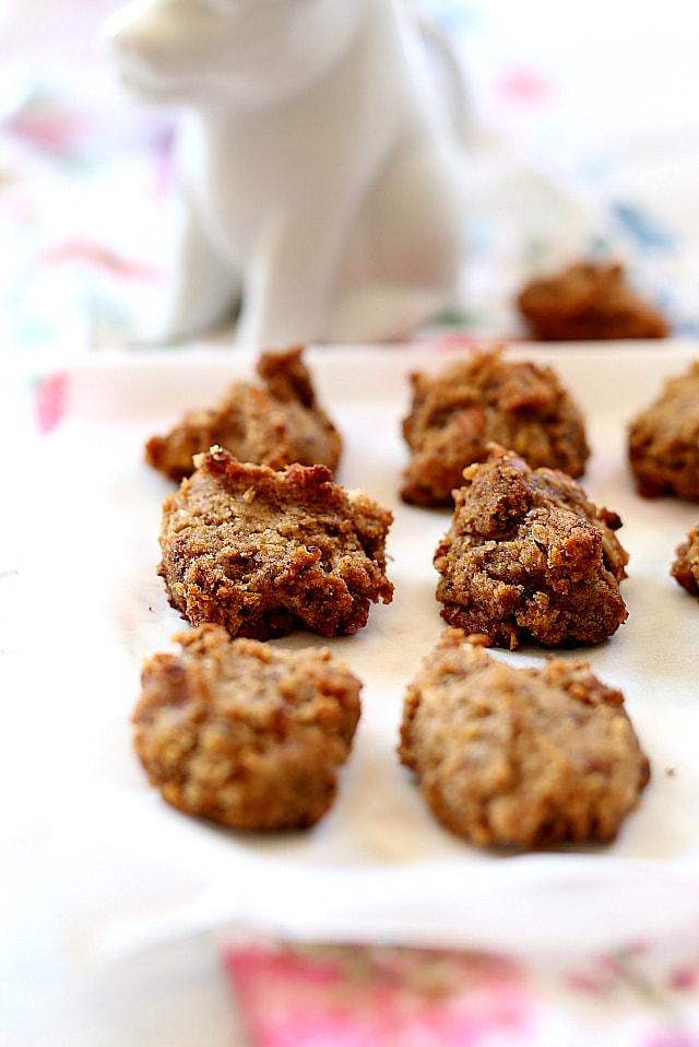 Almond Flour Cookies - Grain Free Gluten Free Paleo