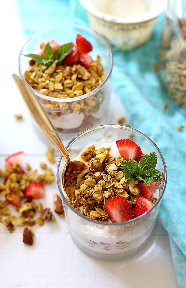 turmeric granola