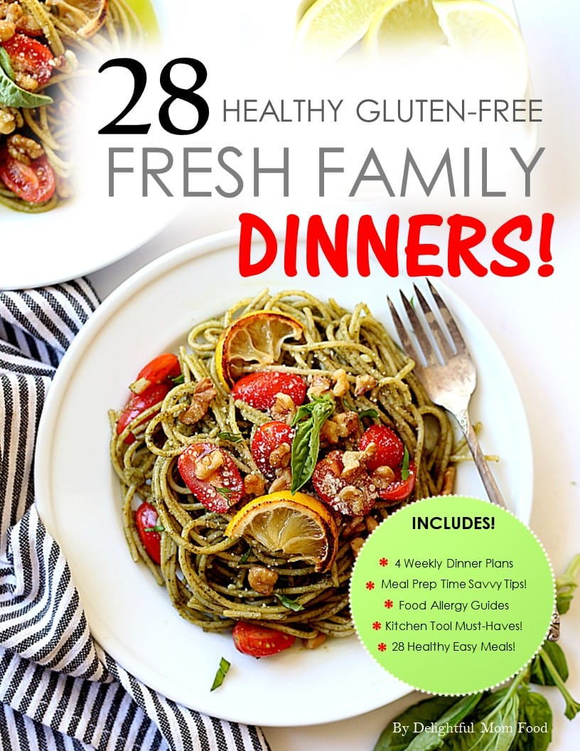 gluten free dinners ebook
