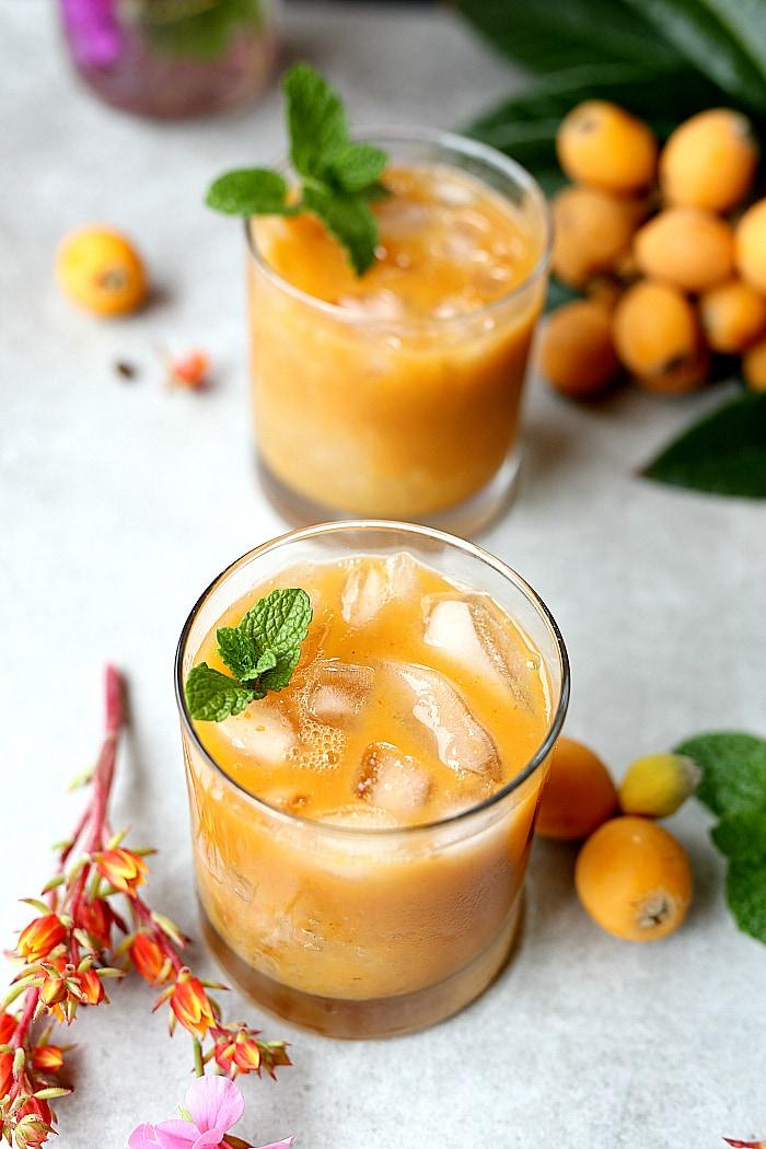 loquat cocktails recipe
