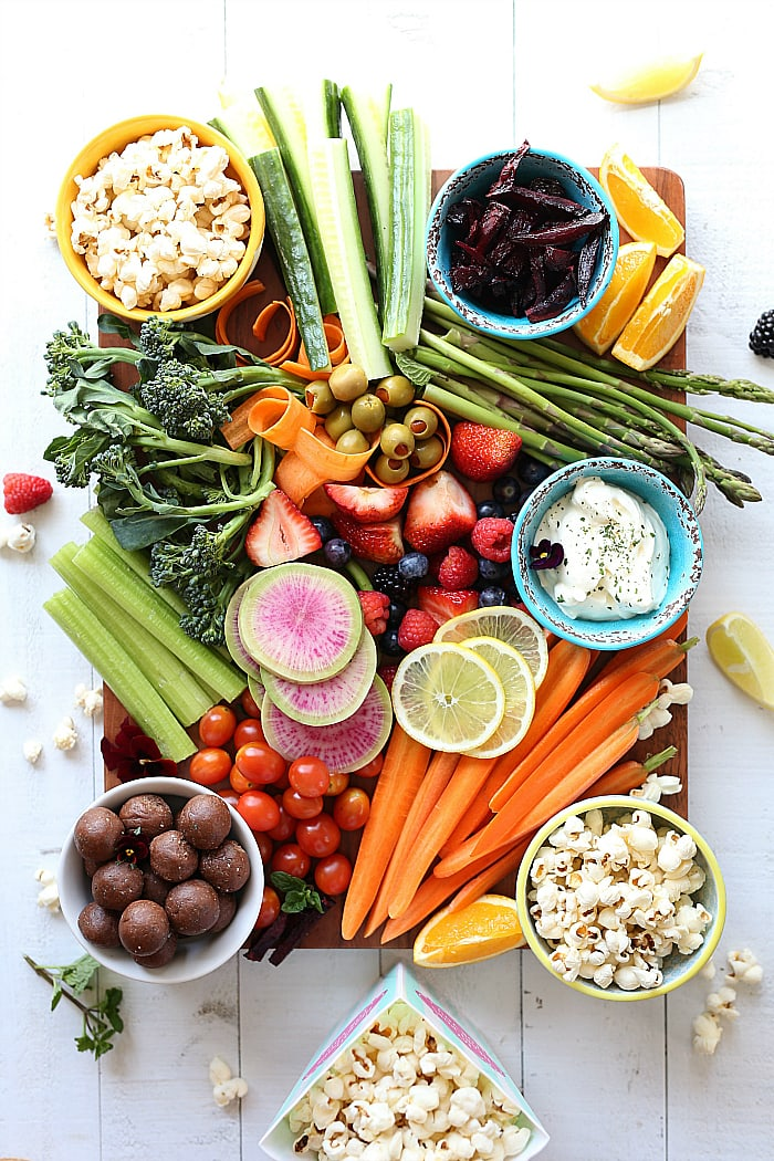 a simple and delicious healthy snacks party platter for kids and everyone to enjoy get