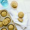 Fluffy Banana Zucchini Muffins