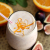 Creamy Orange And Fig Smoothie