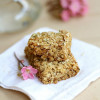 Coconut Granola Bars For Breakfast