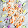 Coconut Milk Shrimp Skewers