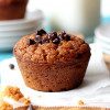 Greek Yogurt Pumpkin Muffins (Grain-Free + Video)