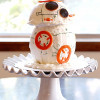 Star Wars BB-8 Droid Cantaloupe Cake