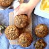 Healthy Oatmeal Chia Seed Muffins