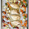 Lemony Herb Sheet Pan Chicken & Vegetables