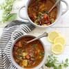 Mushroom, Squash and Tomato Chili Vegetable Soup {Paleo}