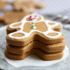 Vegan Gingerbread Man Cookies (Gluten Free)