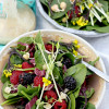Spinach Salad Recipe with Honey Mustard Dressing