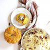 Stuffed Squash With Quinoa, Cranberries and Goat Cheese