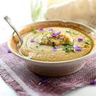 Creamy Vegan White Bean Soup