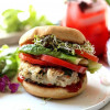 4-Ingredient Healthy Italian Turkey Burger Recipe (Paleo & Keto)