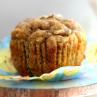 Healthy Carrot Muffins with Avocado, Banana & Oat