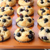 Blueberry Lemon Yogurt Muffins