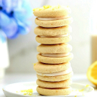 Soft Lemon Filled Cookie Recipe (Vegan & Gluten-Free)