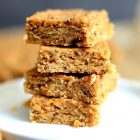 Almond Butter Bars with Chia Seeds