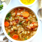 Cabbage Soup Diet Recipe In A Spicy Miso Broth