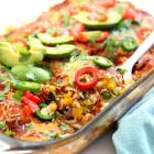 Keto Enchiladas Casserole