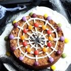 Halloween Cookie Cake: Oatmeal Chocolate Chip