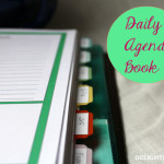 Daily Agenda Book with Free Printables