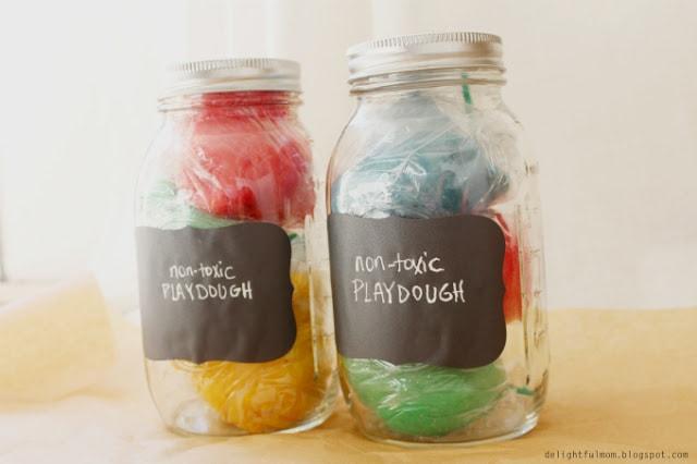 non-toxic playdough