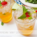 Skinny Mango Black Tea Cocktail