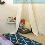 Inexpensive Bedroom Reading Nook: DIY