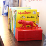 DIY Painted Animal Bookends