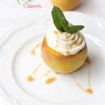 Stuffed Peaches And Cream