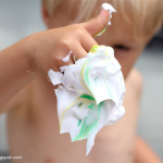 Shaving Cream Activity For Toddlers