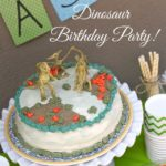 Dinosaur Birthday Party!