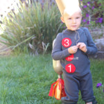 DIY Halloween Space Ship Costume