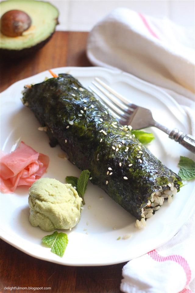 sushi rolls recipe