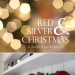 Red & Silver Christmas Decorating