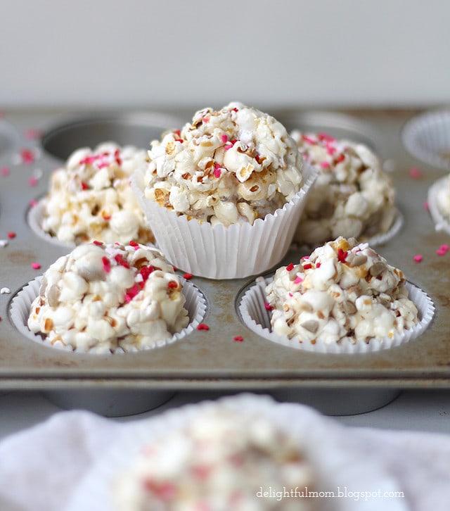Popcorn Marshmallow Treats