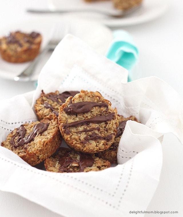 Healthy Gluten Free Coconut Granola Bars With Chocolate