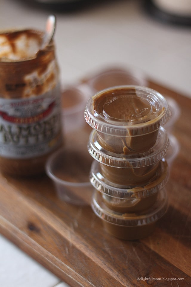 almond butter snack