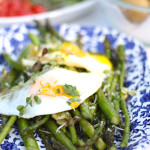 Sauteed Asparagus With Fried Egg