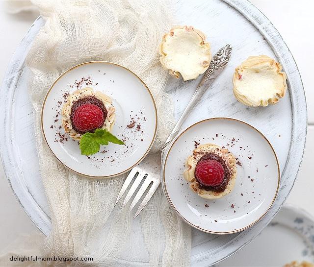 mini mascarpone cheesecake
