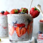 How to make chia seed pudding using raw chia seeds and plant-based milk. This pudding is a healthy dairy-free pudding alternative and is delicious for breakfast, snacks or dessert! #chia #seed #pudding #glutenfree #dairfree #healthy #snack #dessert #breakfast #vegan | Recipe at delightfulmomfood.com