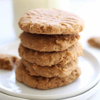 Gluten-Free Almond Butter Cookies